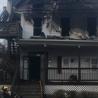 14 Displaced By Worcester Fire