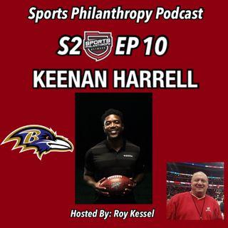 S2: EP10 Keenan Harrell, Baltimore Ravens