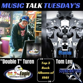 (SMx): Music Talk Tuesday: Top 3 Rock Albums of 1981
