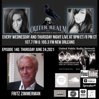 The Outer Realm With Michelle Desrochers and Amelia Pisano Fritz Zimmerman is an independent researc