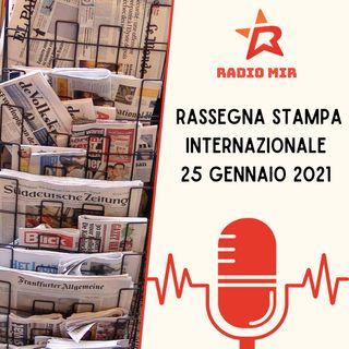 Rassegna Stampa Internazionale del 18 Gennaio 2021