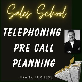 Telephoning Pre Call Planning