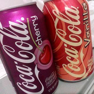 Snacktime! 15: Cherry Coke & Vanilla Coke