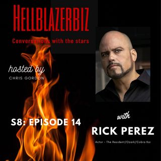 Actor Rick Perez talks to me ahead of appearing in S3 of Cobra Kai on Netflix