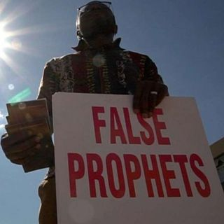 What does the Bible say about false prophets?