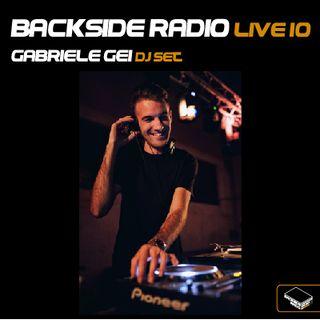 Backside Radio Live10_ Gabriele Gei