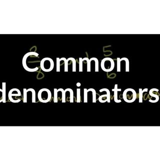 The Common Denominator - Streets, Alleys, & Black Men: 619-768-2945