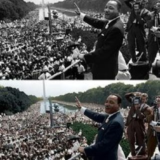 Conclusion of The Historic March On Washington Of Wednesday August 28th, 1963