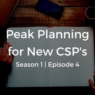 Customer Conversation: Peak Planning for New CSP's