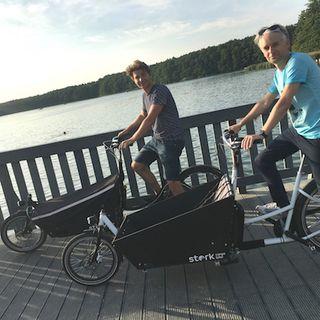 #9 Od pomysłu do pierwszego zamówienia - Wojtek Augustyniak o Stork Cargo Bike.