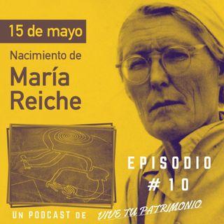 #10 Maria Reiche - Protectora de las Líneas de Nazca