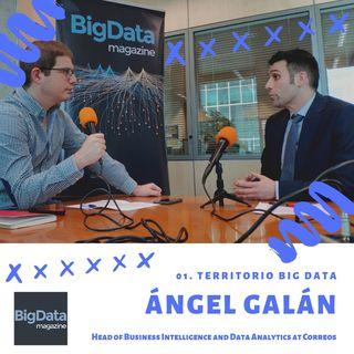#TerritorioBigData01 con Ángel Galán