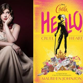 Author Maureen Johnson discusses #HelloCruelHeart on #ConversationsLIVE ~ @maureenjohnson @disney #cruella #disney #newrelease