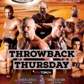 Throwback Thursday: UFC 43