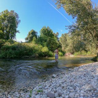 Giovane vicentino rischia l'annegamento nelle acque del Brenta. Salvato dall'amico