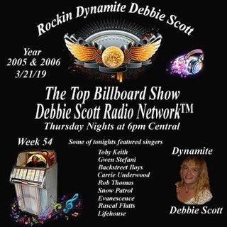 Top Billboard Rock & Pop Hits from 2005-06   3-21-19