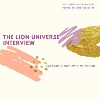 The Lion Universe Interview.