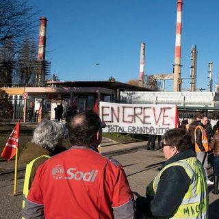 Oltre Confine: scioperi in Francia, India, petrolio, Palestina e crimini di guerra
