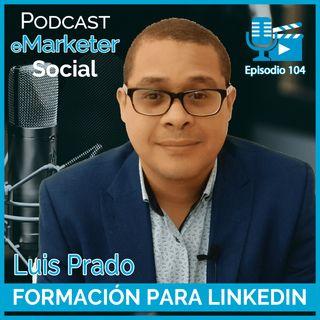 104 Charla entrevista realizada a Luis Prado