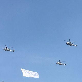 Helicópteros de Fórmula 1 sobrevuelan CDMX