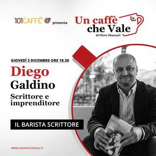 Diego Galdino: Il barista scrittore