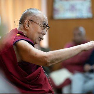 2019 Sua Santità il Dalai Lama in Delhi