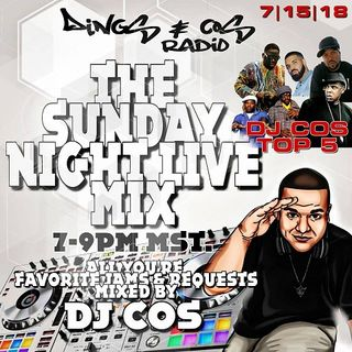 Sunday Night Live Mix W/ DJ Cos Ep. 117