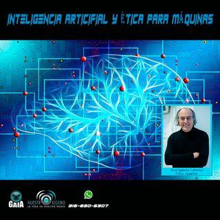 NUESTRO OXÍGENO Inteligencia artificial y ética para máquinas - Jose Ignacio Latorre