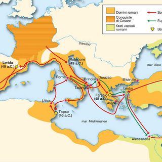 La Guerra civile romana 49-45 a.c