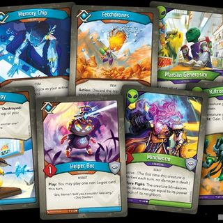 NEW Keyforge Organized Play Rewards Revealed or More Age of Ascension Cards Released (Mars and Logos)