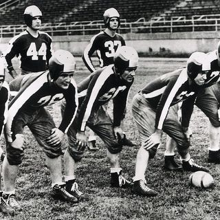 TGT Presents On This Day: December 5th, 1943 the last game for the Steagles