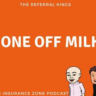 Gone off milk!
