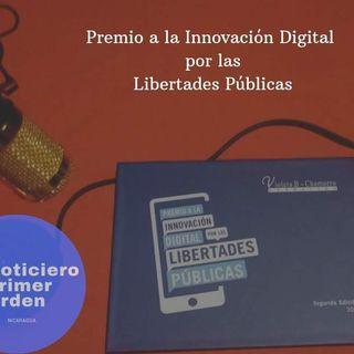 Primer Orden gana Premio a la Innovación Digital Por Las Libertades Públicas 2019