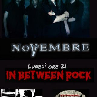 IN BETWEEN ROCK con Giuseppe Spataro  Rock e tante curiosità..  super intervista ai   NOVEMBRE   ON AIR