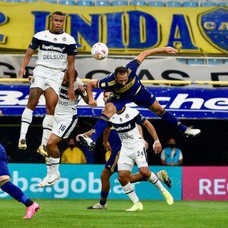 Gol de Boca: Carlos Izquierdoz 1-0