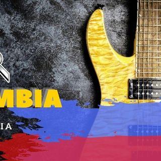 Edición de lanzamiento de ROCKOMBIA  Rock y Pop hecho en Colombia El Podcast N 1
