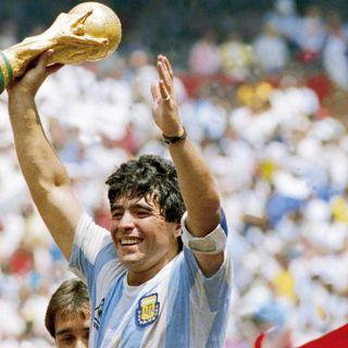 Diez e non più Diez, omaggio a Maradona