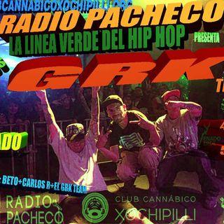 """REPETICIÓN """"GRK Team"""" La Linea Verde... del Hip Hop!! Prog 7"""