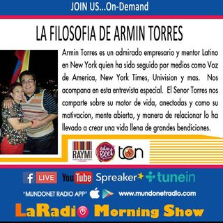 Armin Torres empresario latino nos habla sobre restaurantes en New York