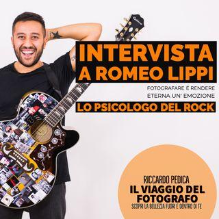 Fotografare é rendere eterna un'emozione: Intervista a Romeo Lippi, lo psicologo del rock