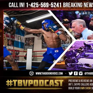 ☎️Errol Spence Sparred Monday For First Time Since Suffering Injuries In Car Accident😱