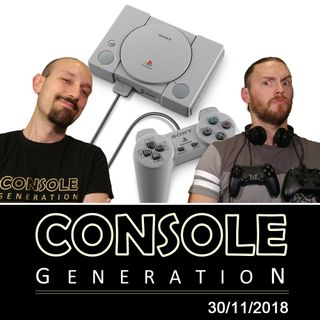 PlayStation Classic, intervista a Nintendo Italia e altro! - CG Live 30/11/2018