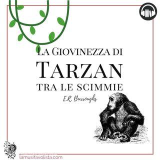 TARZAN • E.R. Burroughs  • Capitolo 13 ☆ Audiolibro ☆