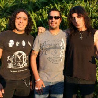 """Entrevista a Marco García y Eduardo Castet """"Lechuza"""" integrantes de la Banda Metal Blade"""