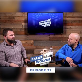 Sales Wolves Podcast | Episode 91 | The Prank Call of the Wolves