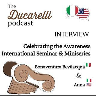 Celebrating the Awareness International Seminar and Miniseries International School of Self Awareness Bonaventura Bevilacqua Anna