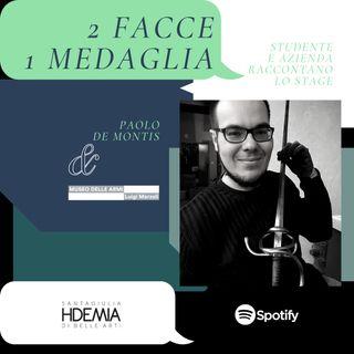 2 facce 1 medaglia: Paolo De Montis e il Museo delle Armi
