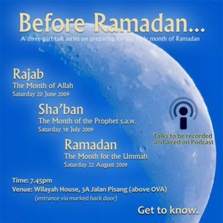 Before Ramadan – A Series of Talks to Prepare for the Holy Month of Ramadan