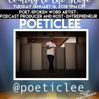 COMING TO THE STAGE: SPECIAL GUEST POETICLEE