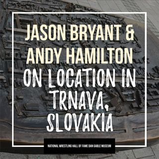 On The Mat on location in Trnava, Slovakia with Andy Hamilton & Jason Bryant - OTM542